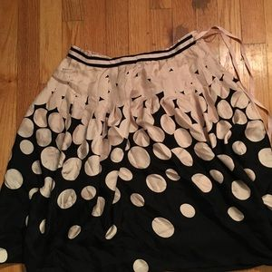 Dresses & Skirts - Pink and black circle skirt